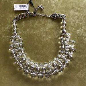 WHBM Clear Lucite Necklace